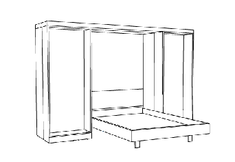 r alisationss de lits muraux. Black Bedroom Furniture Sets. Home Design Ideas